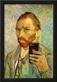Vincent Van Gogh Selfie Portrait Photo