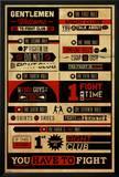 Fight Club - Rules Prints