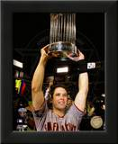 Buster Posey With World Series Trophy Game Five of the 2010 World Series Posters