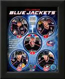 2010-11 Columbus Blue Jackets Team Composite Prints