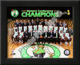 2009-10 Boston Celtics Team with Eastern Conference Champions Posters