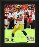 Aaron Rodgers 2010 Action Posters