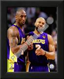Kobe Bryant & Derek Fisher Game Three of the 2010 NBA Finals Posters