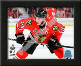 Jonathan Toews Game One of the 2010 NHL Stanley Cup Finals Prints