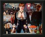 Bar at the Folies-Bergere Prints by Édouard Manet