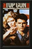 Top Gun Movie Tom Cruise and Kelly McGillis 80s Poster Print Art
