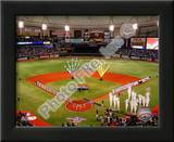 Tropicana Field 2010 Opening Day Print