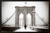 Brooklyn Bridge Winter Prints