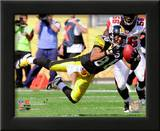 Hines Ward 2010 Action Print