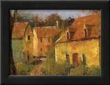 French Farmhouse I Art by Jillian David