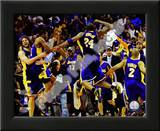 The Los Angeles Lakers celebrate Game Five of the 2009 NBA Finals Posters