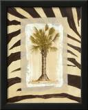 Zebra Palm I Poster by Marie Frederique