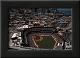 San Francisco - Skyline with Pac Bell Park Art