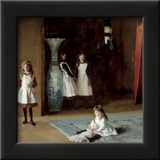 The Daughters of Edward Darley Boit, c.1882 Art by John Singer Sargent