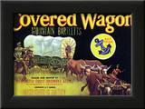 Covered Wagon - Fruit Label Prints