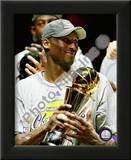 Kobe Bryant Game Five of the 2009 NBA Finals With MVP Trophy Posters
