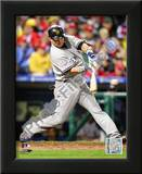 Nick Swisher Game three of the 2009 MLB World Series Posters