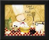 Good Food, Good Life Prints by Dan Dipaolo
