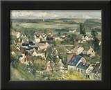 Auvers, Panoramic View, c.1875 Print by Paul Cézanne