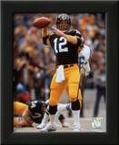 Terry Bradshaw Passing Poster