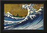 Great Wave (from 100 views of Mt. Fuji) Print by Katsushika Hokusai