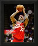 Lebron James - Youngest Player to reach 11, 000 Points Poster