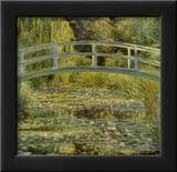 Water Lily Pond and Bridge Prints by Claude Monet