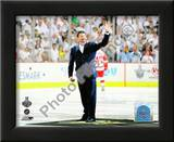 Mario Lemieux Ceremonial Puck Drop Game Three of the 2009 NHL Stanley Cup Finals Posters