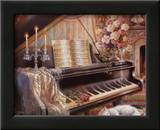 Sonata by Firelight Posters by Judy Gibson