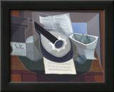 Still Life with a Guitar, 1925 Poster by Juan Gris