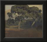 The Oaks Print by Arthur Frank Mathews