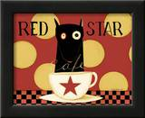 Red Star Prints by Dan Dipaolo