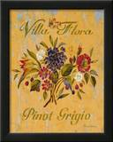 Pinot Grigio Art by Pamela Gladding
