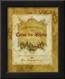 Cotes du Rhone Prints by Pamela Gladding