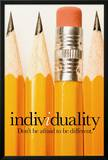 Individuality Posters