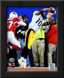 Santonio Holmes  - Super Bowl XLIII Art