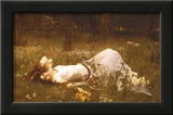 Ophelia, c.1889 Art by John William Waterhouse