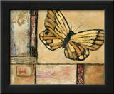 Butterfly in Yellow Posters by Judi Bagnato