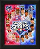 2009 MLB World Series Match Up Philadelphia Phillies Vs. New York Yankees Art