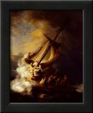 Storm on the Sea of Galilee Prints by  Rembrandt van Rijn