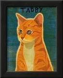 Tabby (orange) Prints by John Golden