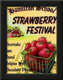 Strawberry Festival Posters by Catherine Jones