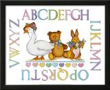 Alphabet Sampler Posters by Marnie Bishop Elmer