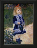 Girl with Watering Can Poster by Pierre-Auguste Renoir