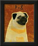 Pug Art by John Golden