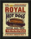 Royal Hot Dogs Prints by Joe Giannakopoulos
