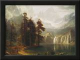 Sierra Nevada in California Prints by Albert Bierstadt