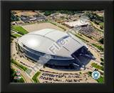 Cowboys Stadium Aerial View Art