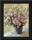 Vase of Flowers Prints by Claude Monet