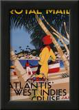West Indies Cruise Poster